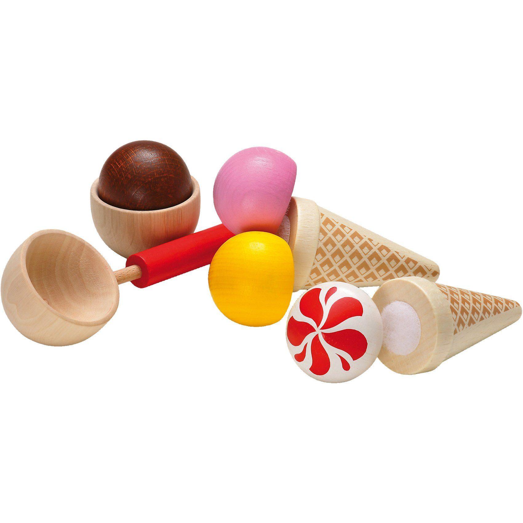 ERZI Spiellebensmittel Sortierung Eis-Party