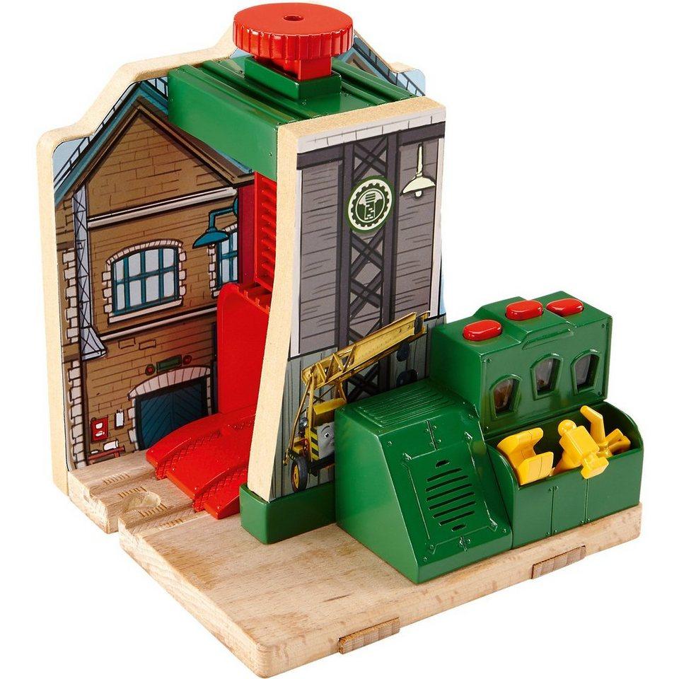 Mattel Thomas und seine Freunde Mike Lokwerkstatt - Holz
