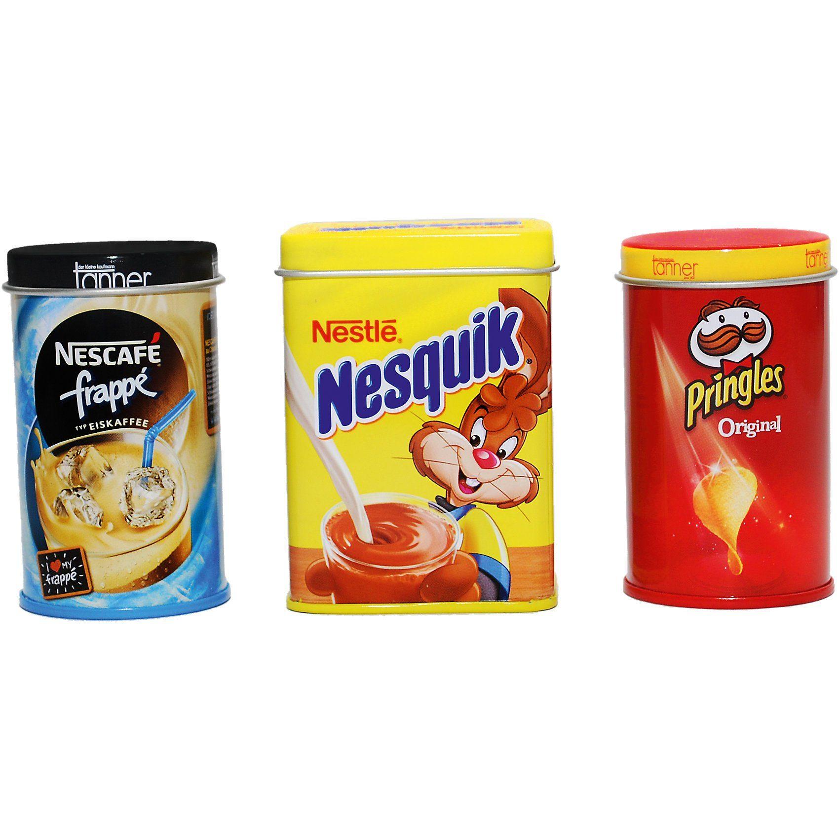 Chr. Tanner Spiellebensmittel Prinzenrolle, Pringles, Nesquik