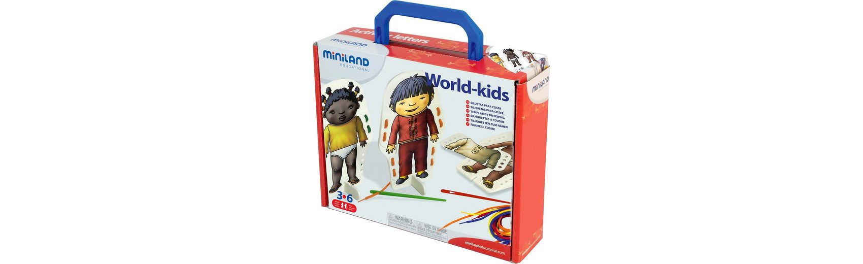 Miniland World Kids Fädelspiel