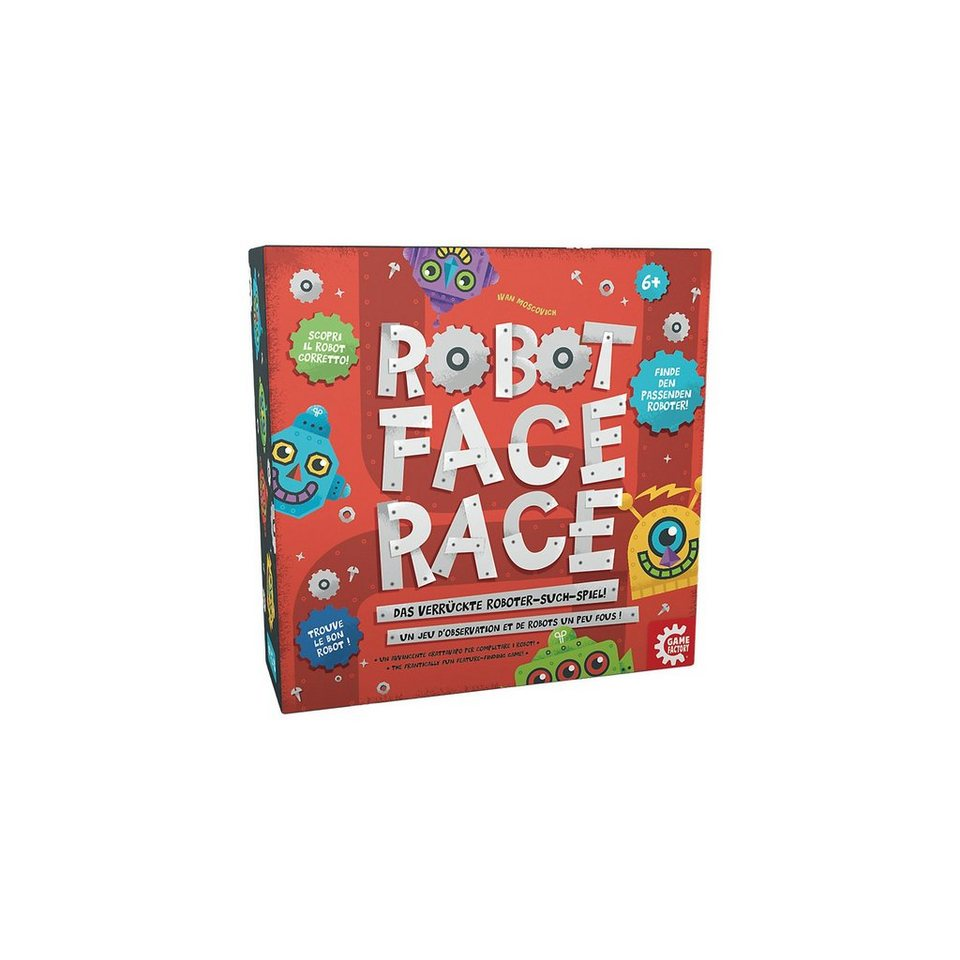 Gamesfactory Robot Face Race