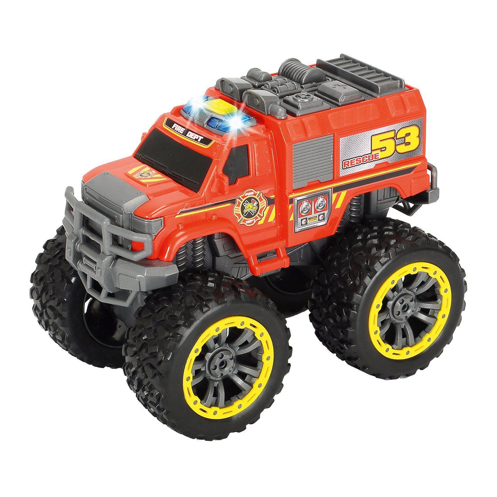 Dickie Toys Fahrzeug Flame Hunter mit Licht und Sound