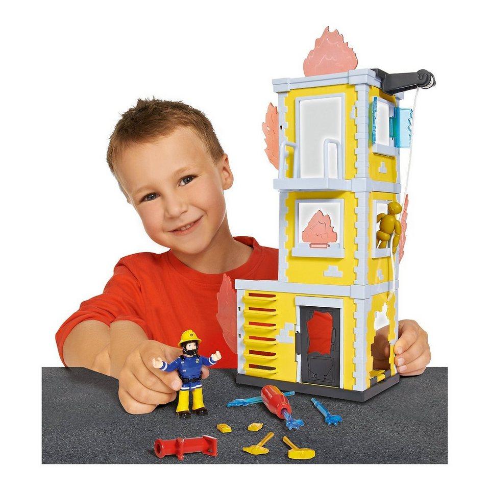 Simba Feuerwehrmann Sam Großer Trainings-Turm mit Figur