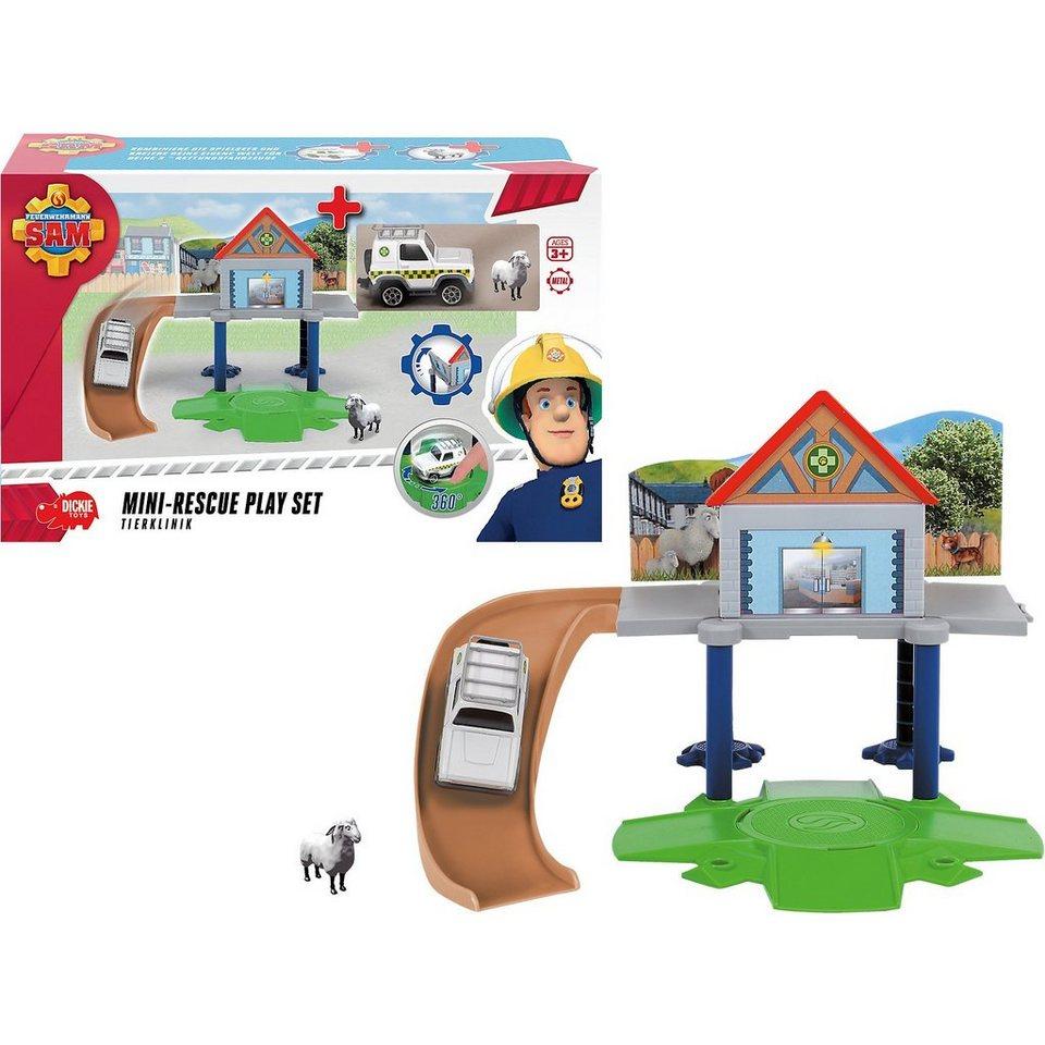 Dickie Toys Feuerwehrmann Sam Vet Mini Set