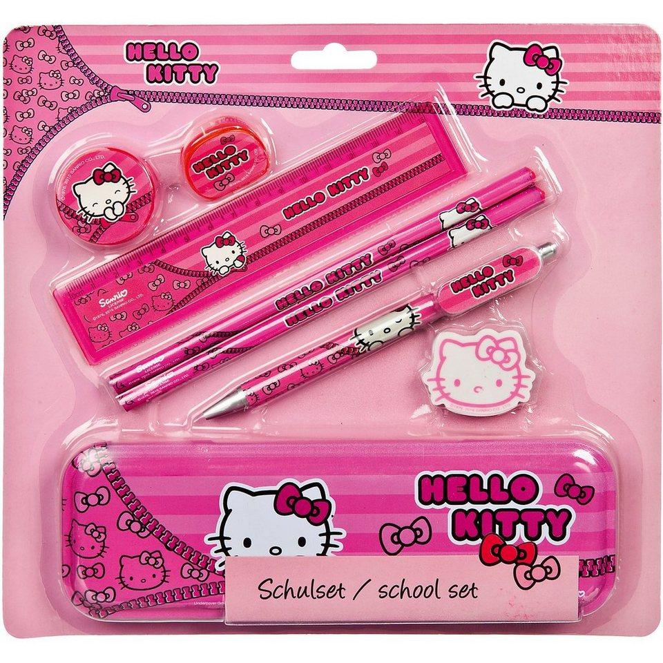 UNDERCOVER Schulset Hello Kitty, 8-tlg.