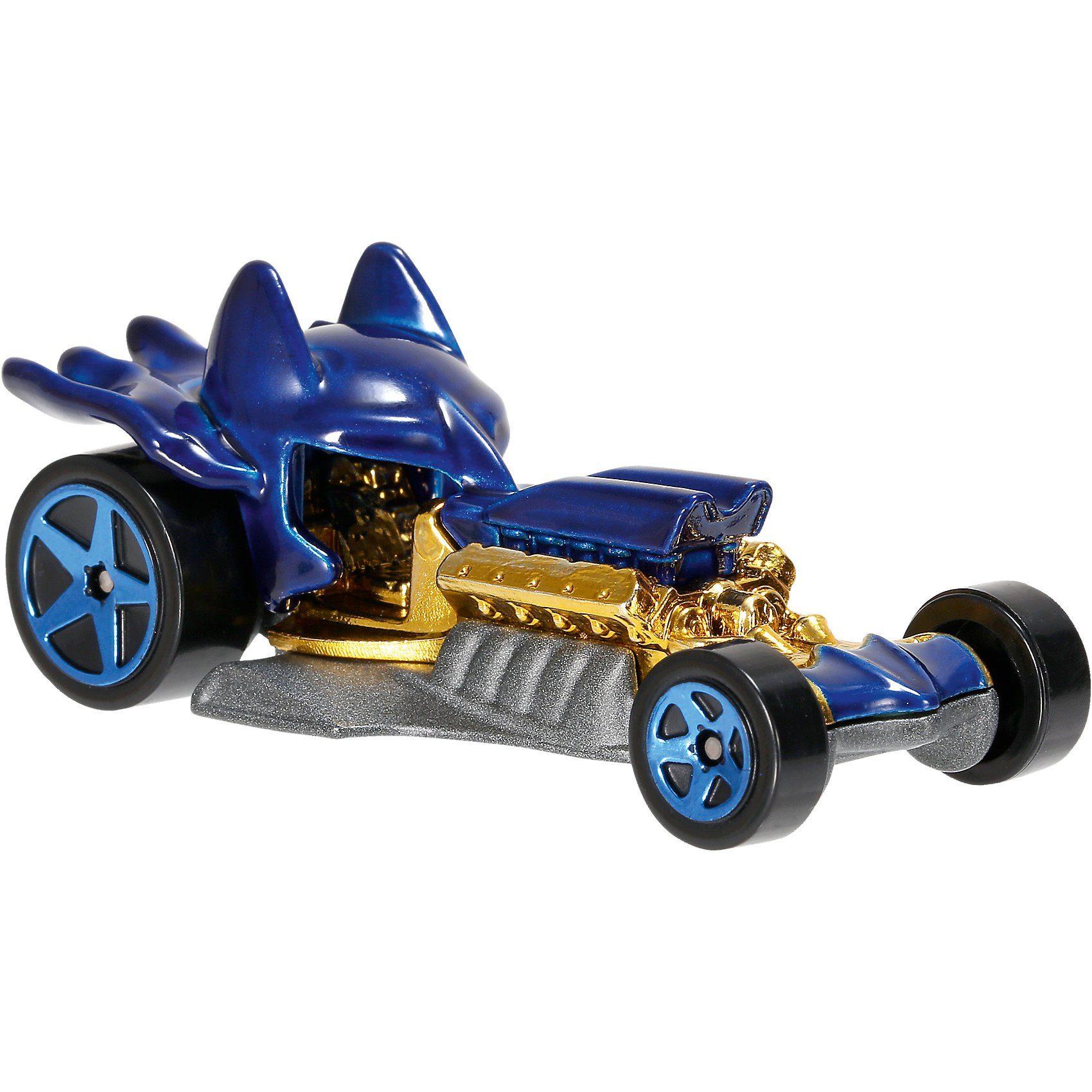 Mattel Hot Wheels DC Comics 1:64 Character Car Sortiment (rolliere