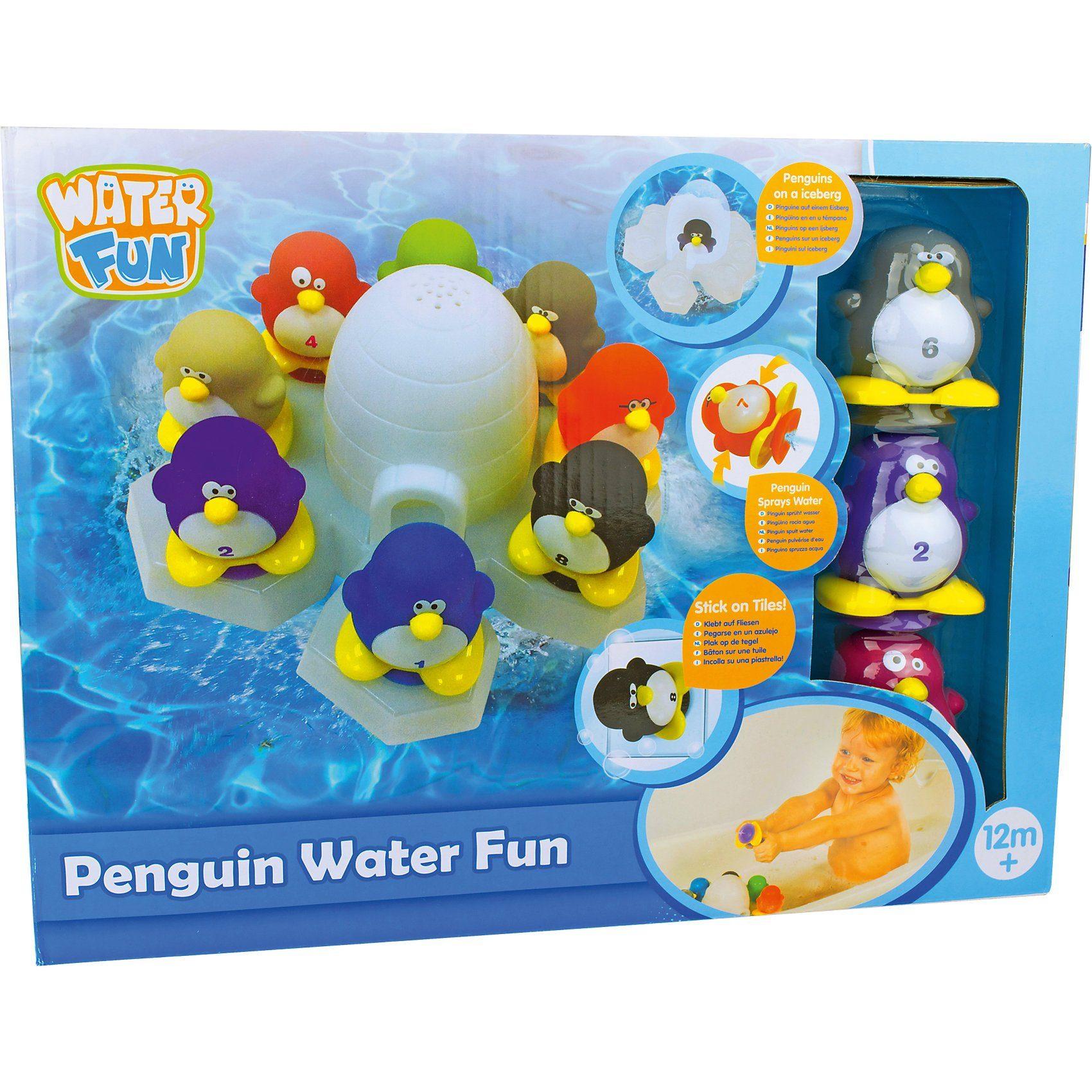 Badespielzeug Pinguin Wasserspaß