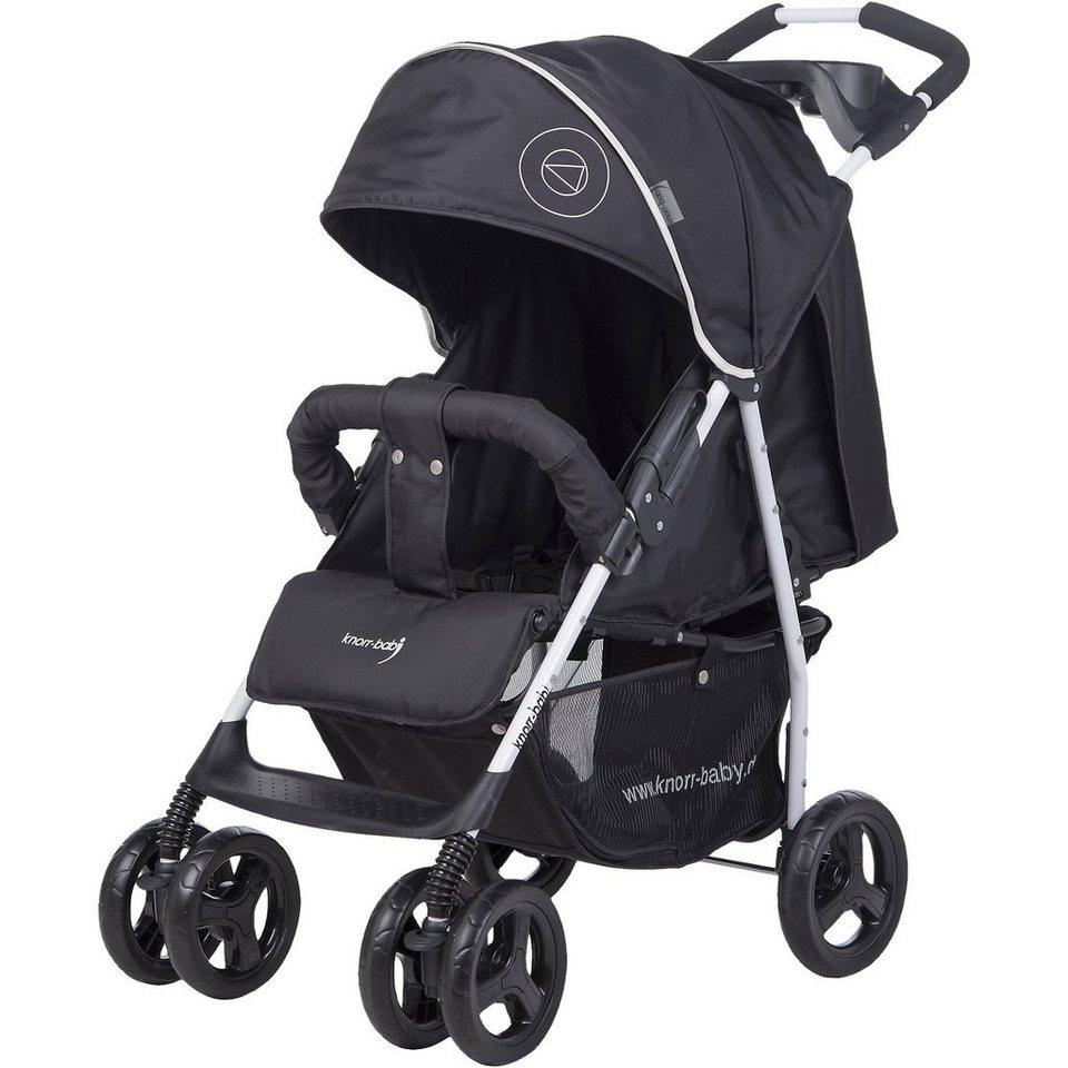 knorr-baby Sportwagen Vero XL Happy Colour, schwarz in schwarz