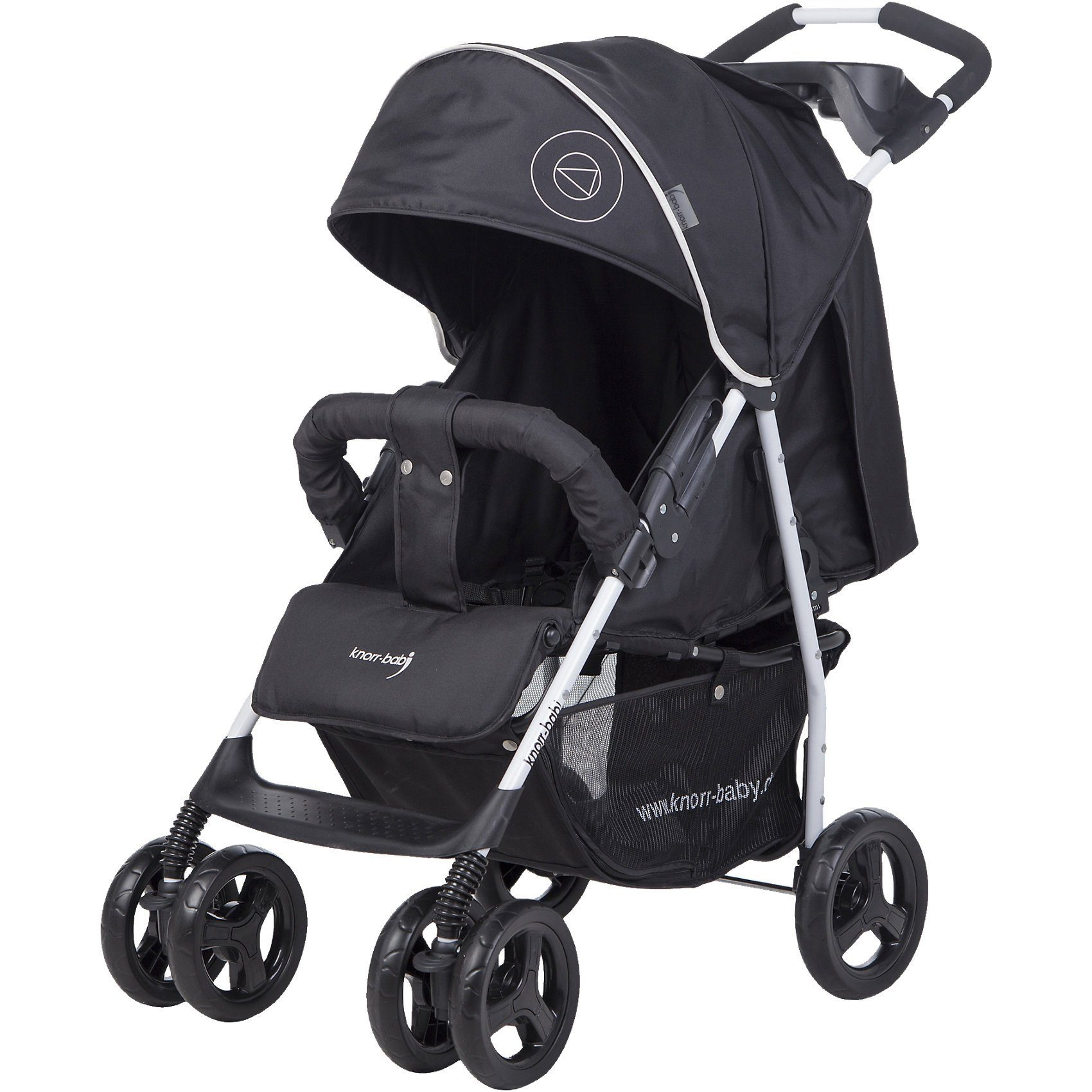knorr-baby Sportwagen Vero XL Happy Colour, schwarz