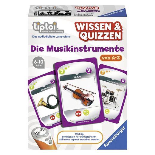 Ravensburger tiptoi® Wissen & Quizzen: Die Musik-Instrumente