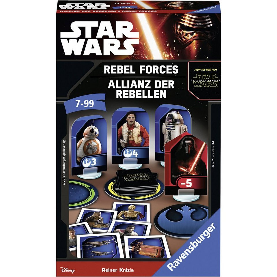 Ravensburger Mitbringspiel Star Wars Allianz der Rebellen