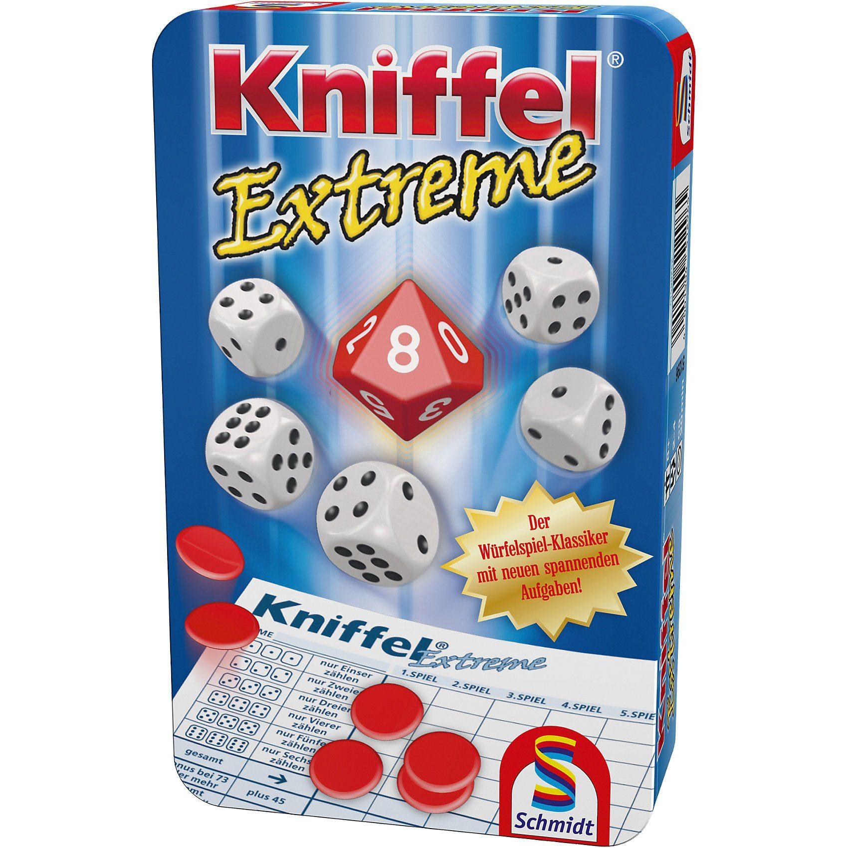 Schmidt Spiele Mitbringspiel Kniffel Extreme