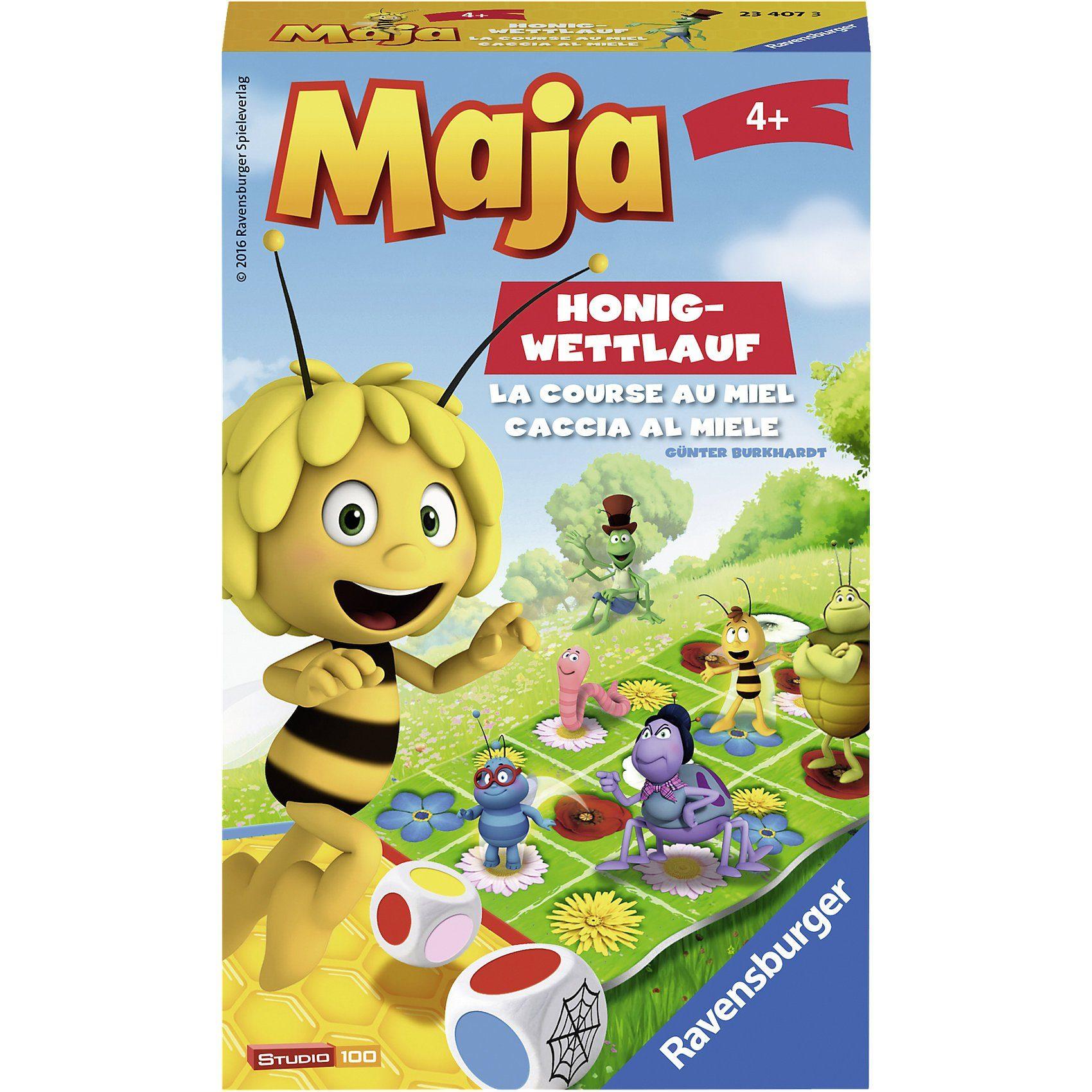 Ravensburger Mitbringspiel Biene Maja Honig-Wettlauf