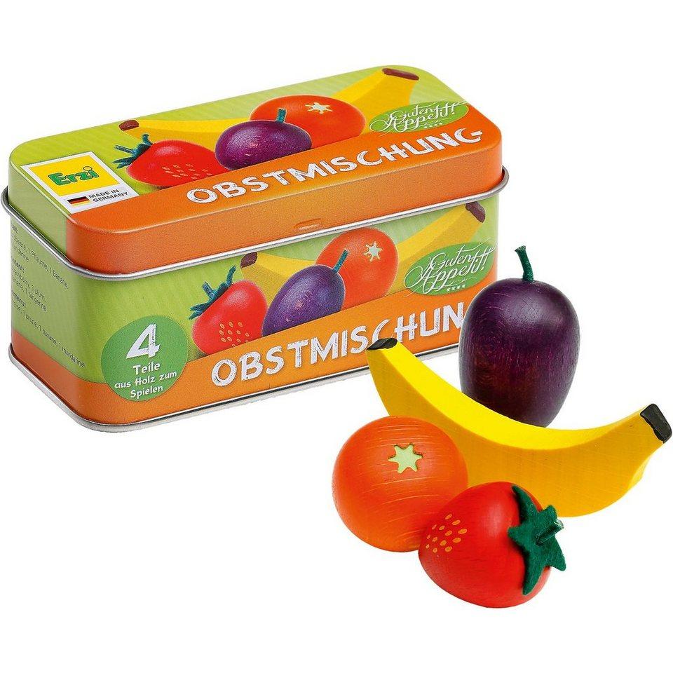 ERZI Spiellebensmittel Obstmischung in der Dose