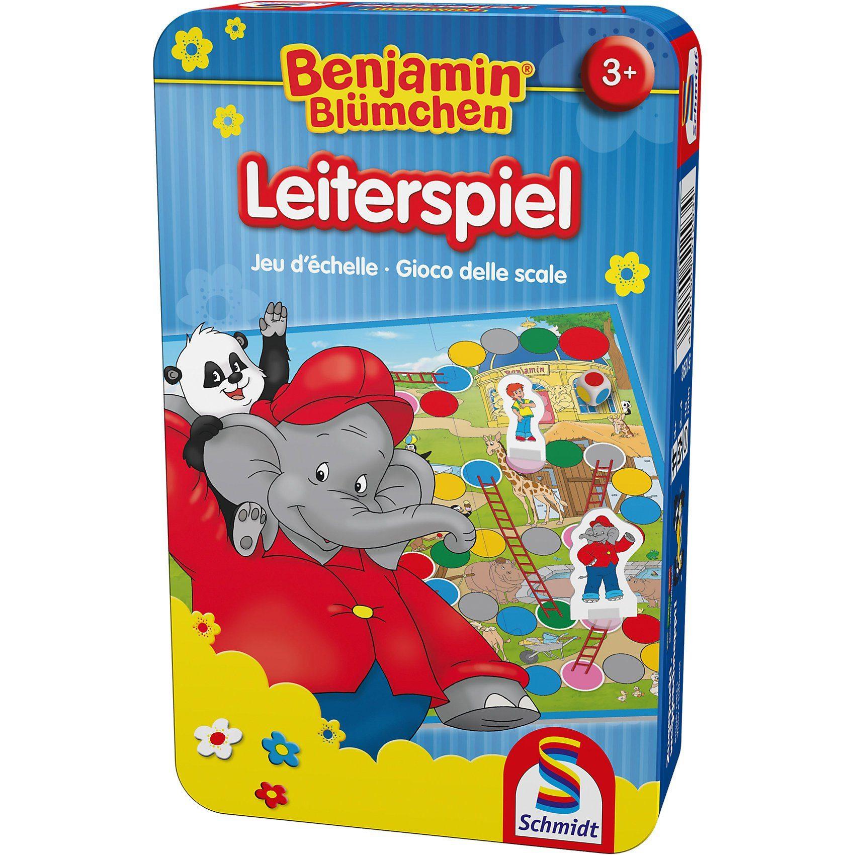 Schmidt Spiele Mitbringspiel Benjamin Blümchen, Leiterspiel