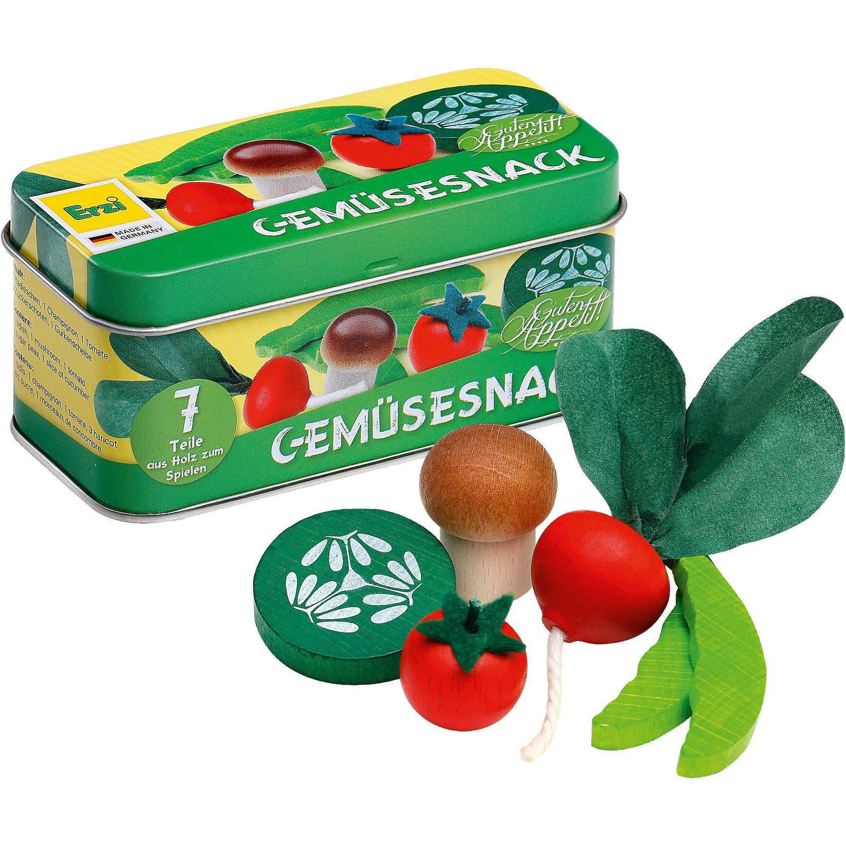 ERZI Spiellebensmittel Gemüsesnack in der Dose