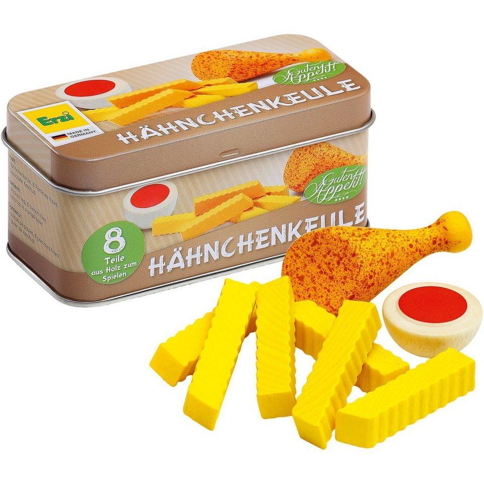Erzi® Spiellebensmittel Hähnchenkeule in der Dose