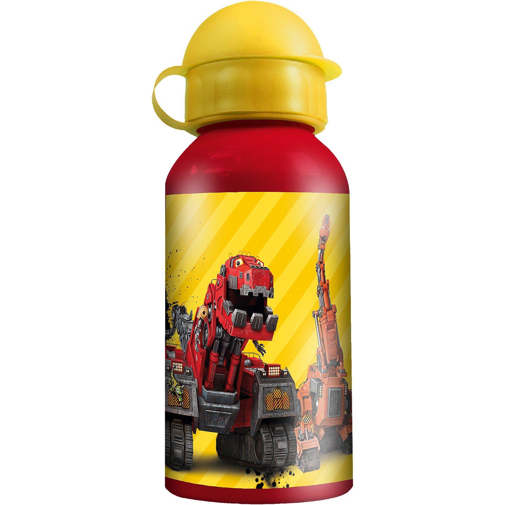 P:OS Alu-Trinkflasche Dinotrux, 400 ml