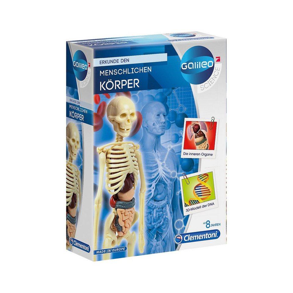 Clementoni Galileo - Der menschliche Körper - Mini-Set