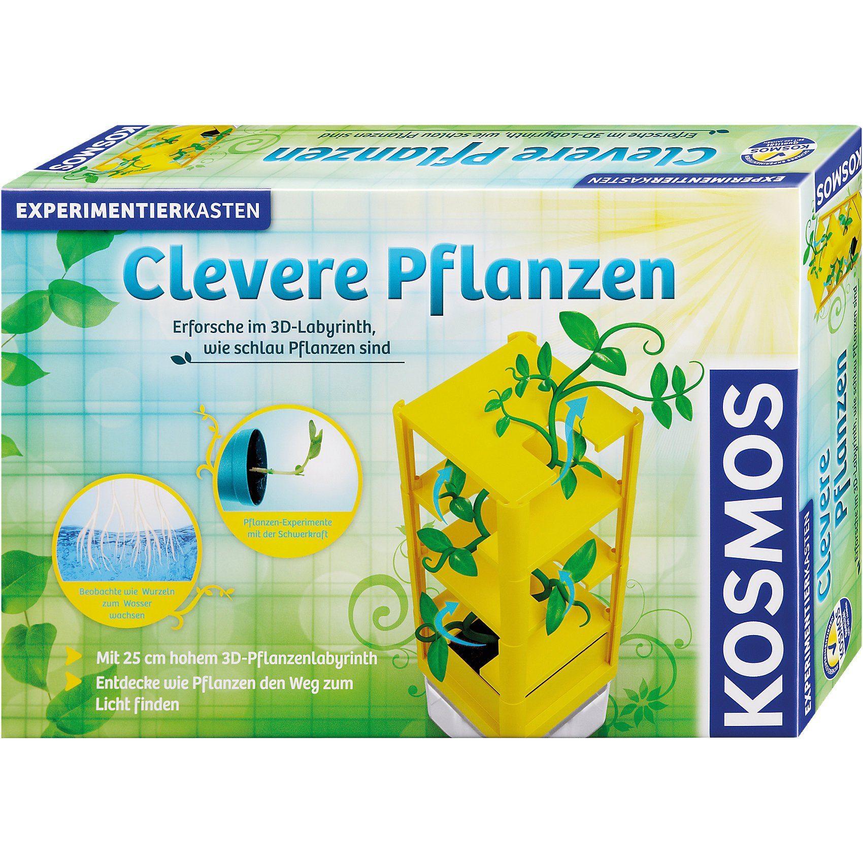 Kosmos Experimentierkasten Clevere Pflanzen