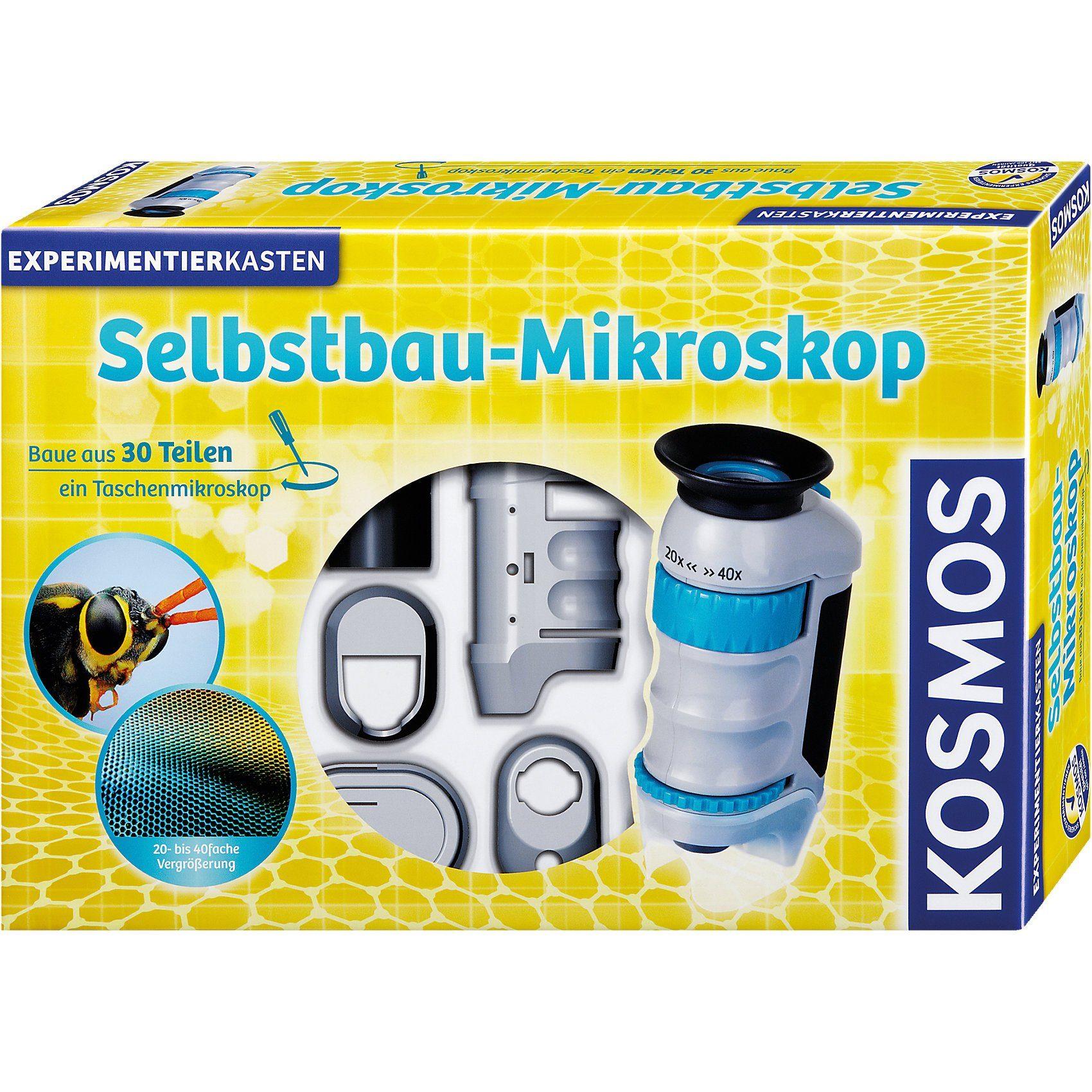 Kosmos Experimentierkasten Selbstbau-Mikroskop