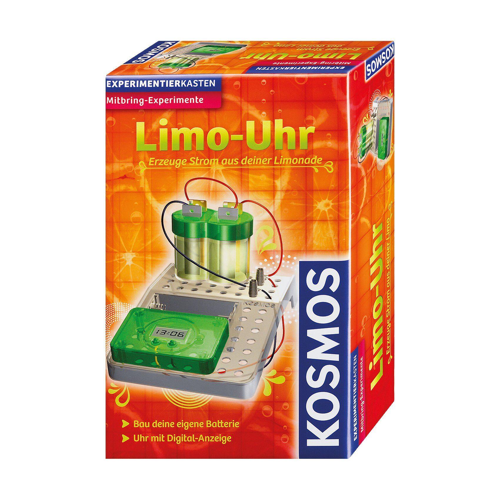 Kosmos Mitbringexperiment Limo-Uhr