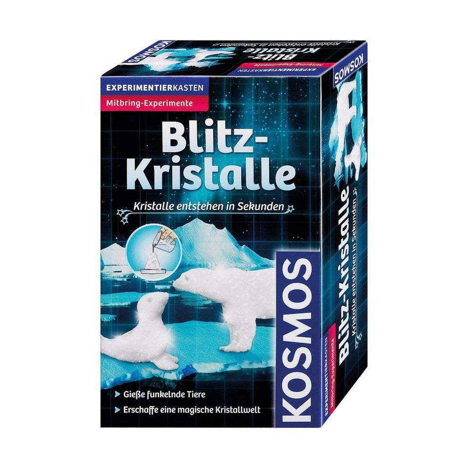 Kosmos Mitbringexperiment Blitz-Kristalle