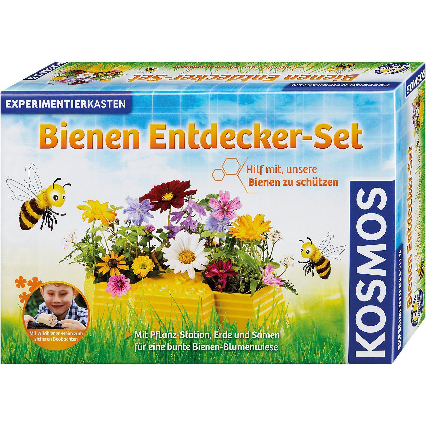 Kosmos Experimentierkasten Bienen Entdecker-Set