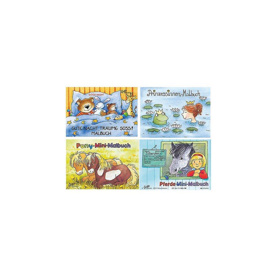 Grätz Verlag Mini-Malbuch Mädchen, 4 Stück kaufen   OTTO