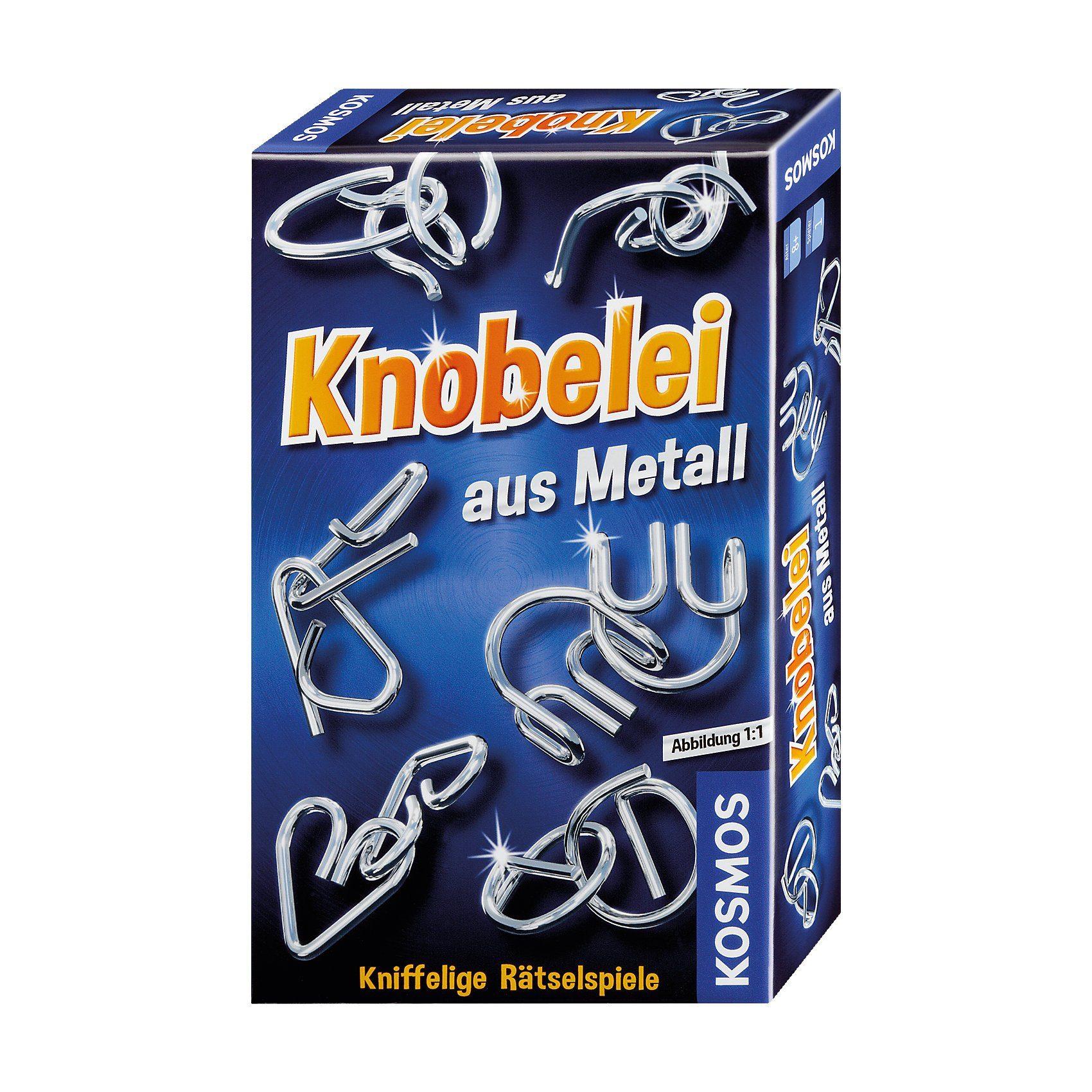 Kosmos Knobelei aus Metall (Mitbringspiel)