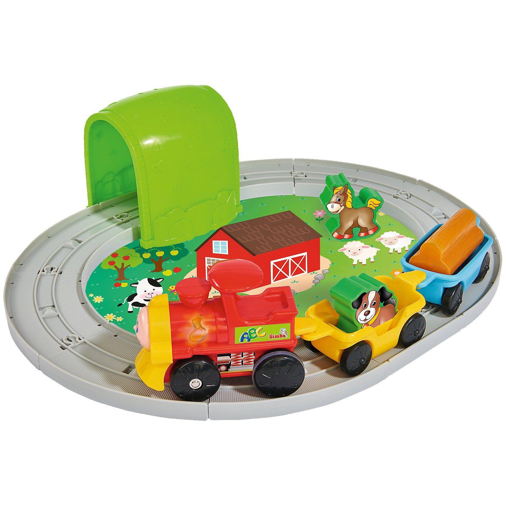 Simba ABC Tiereisenbahn Set, 18-tlg.