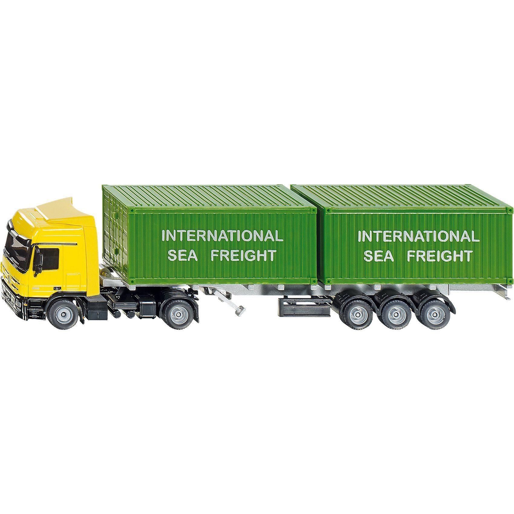 SIKU 3921 LKW mit Container 1:50