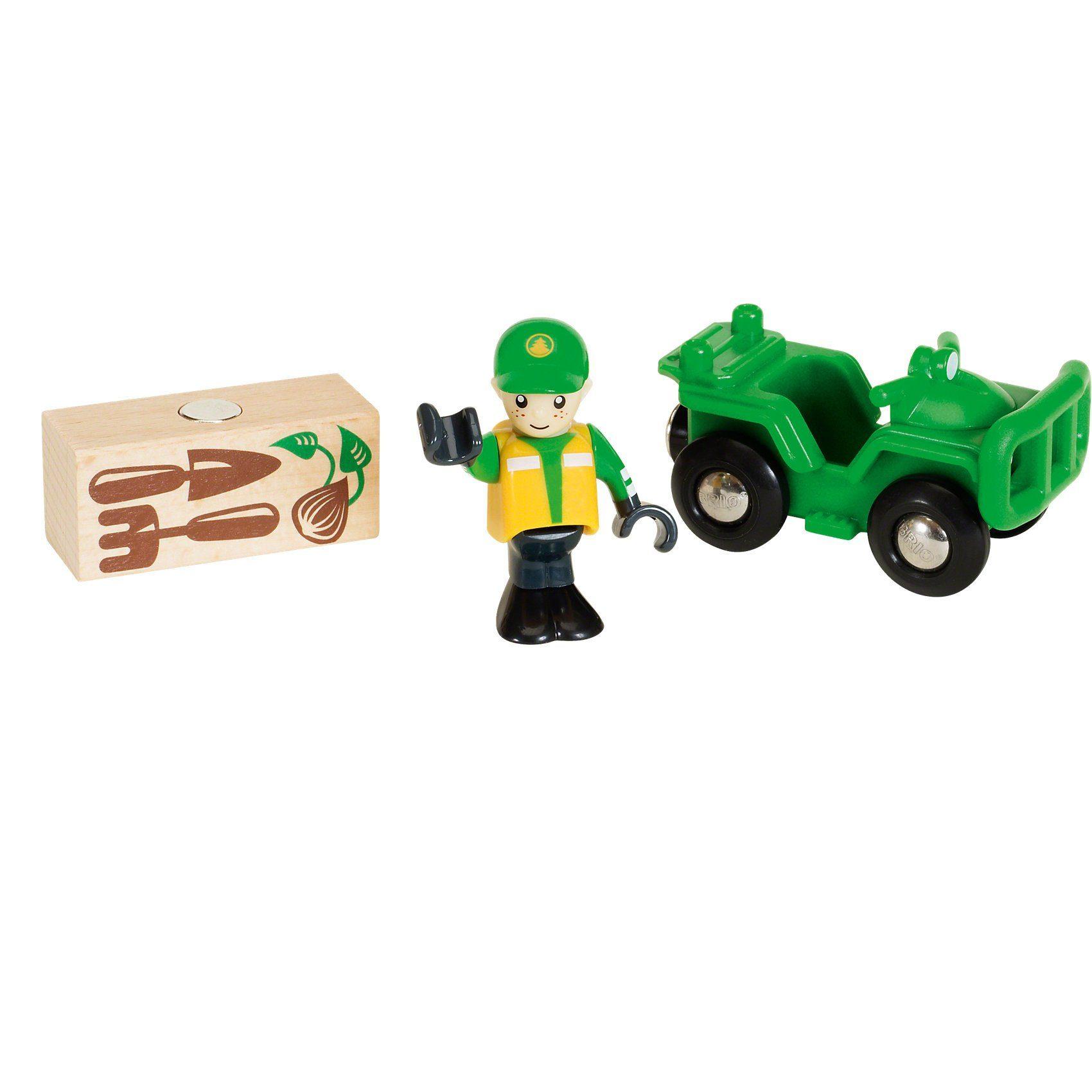 BRIO Waldarbeiter-Quad