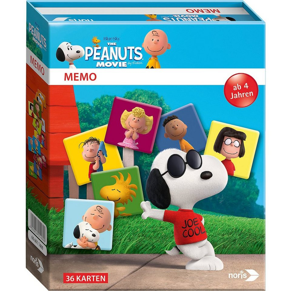 Noris Peanuts Memo