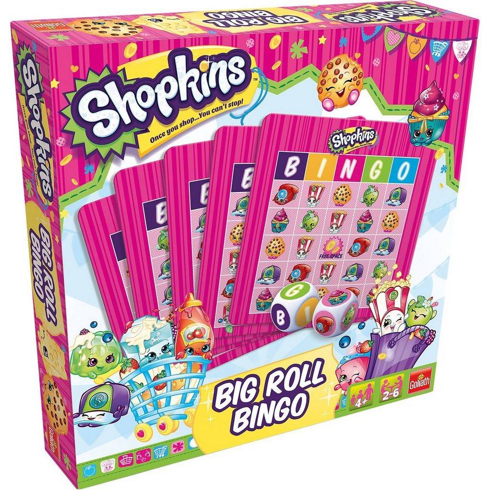 Goliath Shopkins Big Roll Bingo
