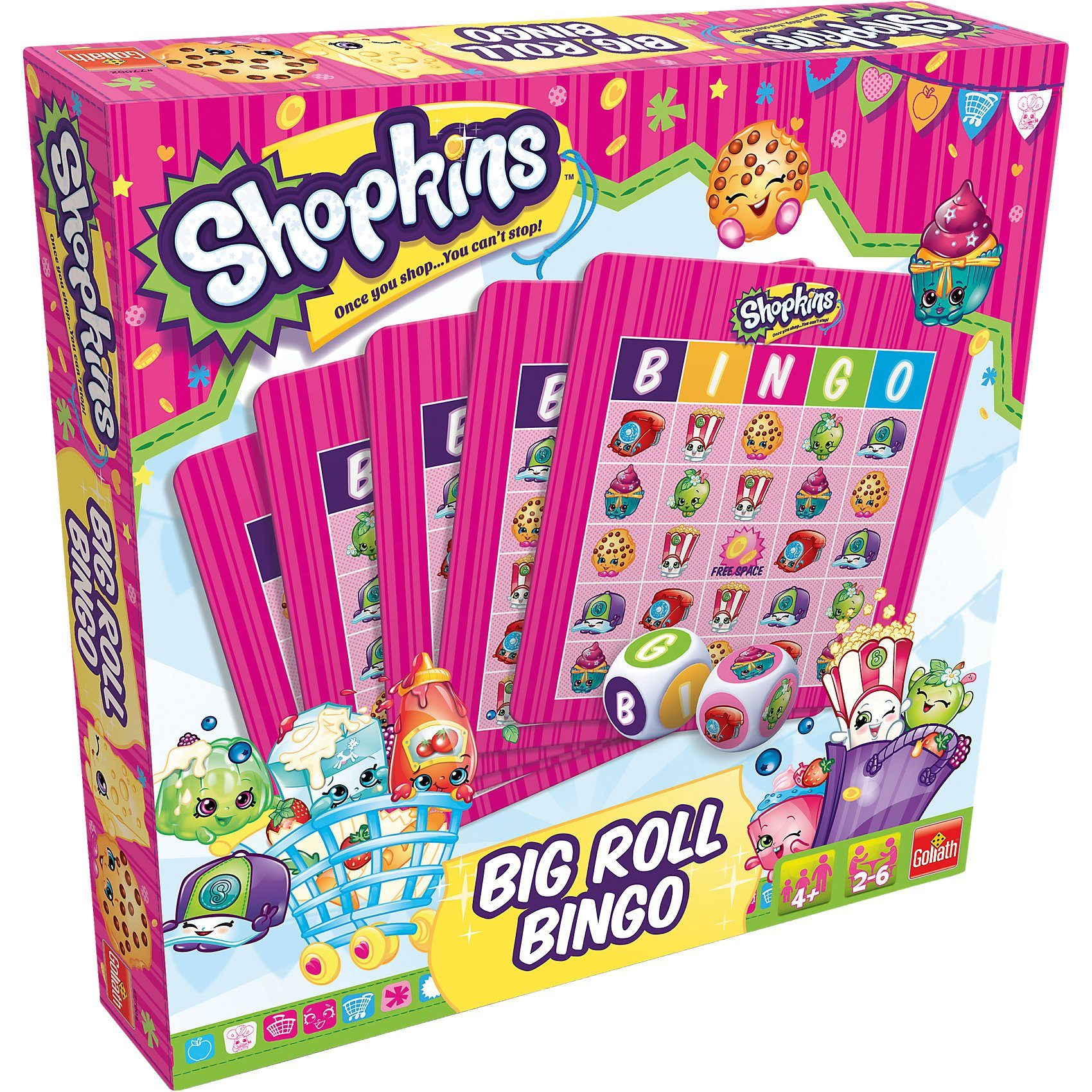 Goliath Shopkins Big Roll Bingo