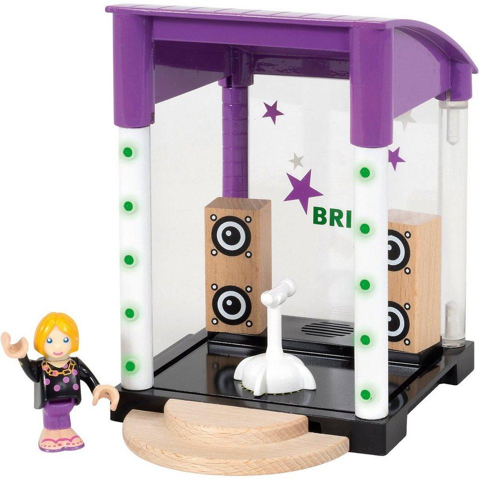 BRIO 33945 Village Bühne mit Licht und Sound