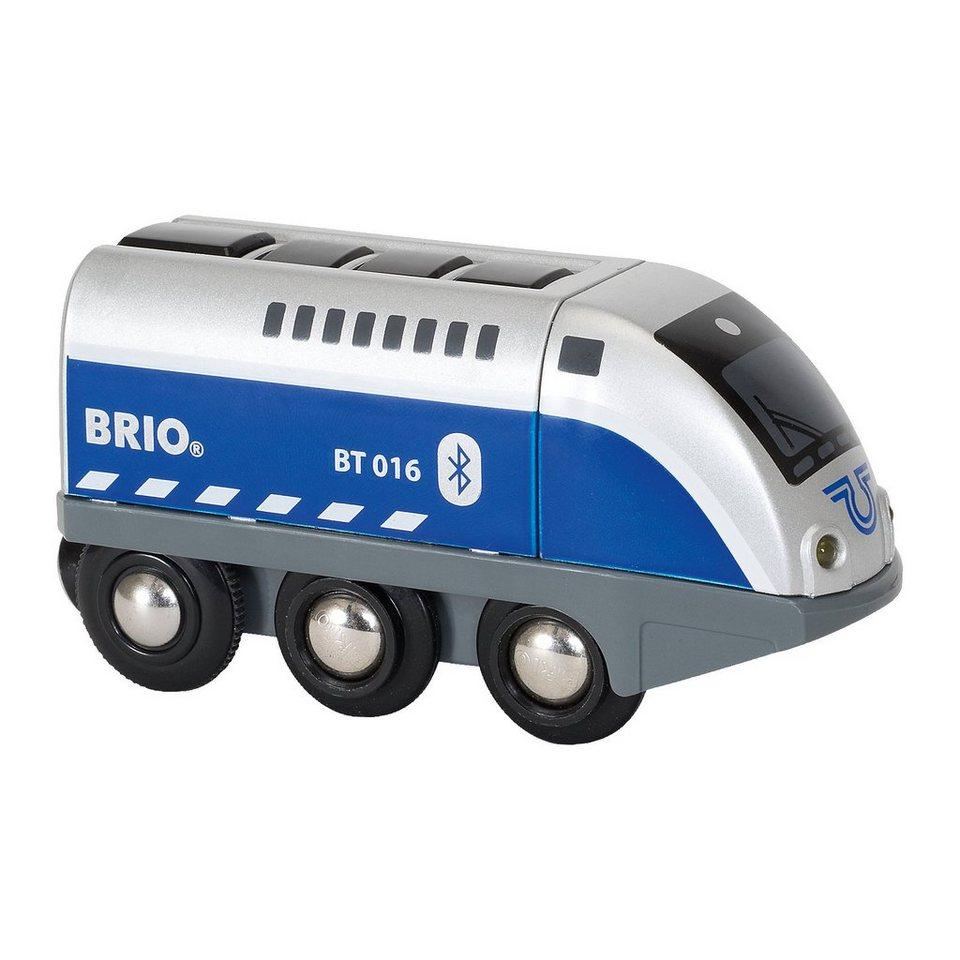 BRIO 33863 Batterielok Blauer Oskar mit APP Steuerung