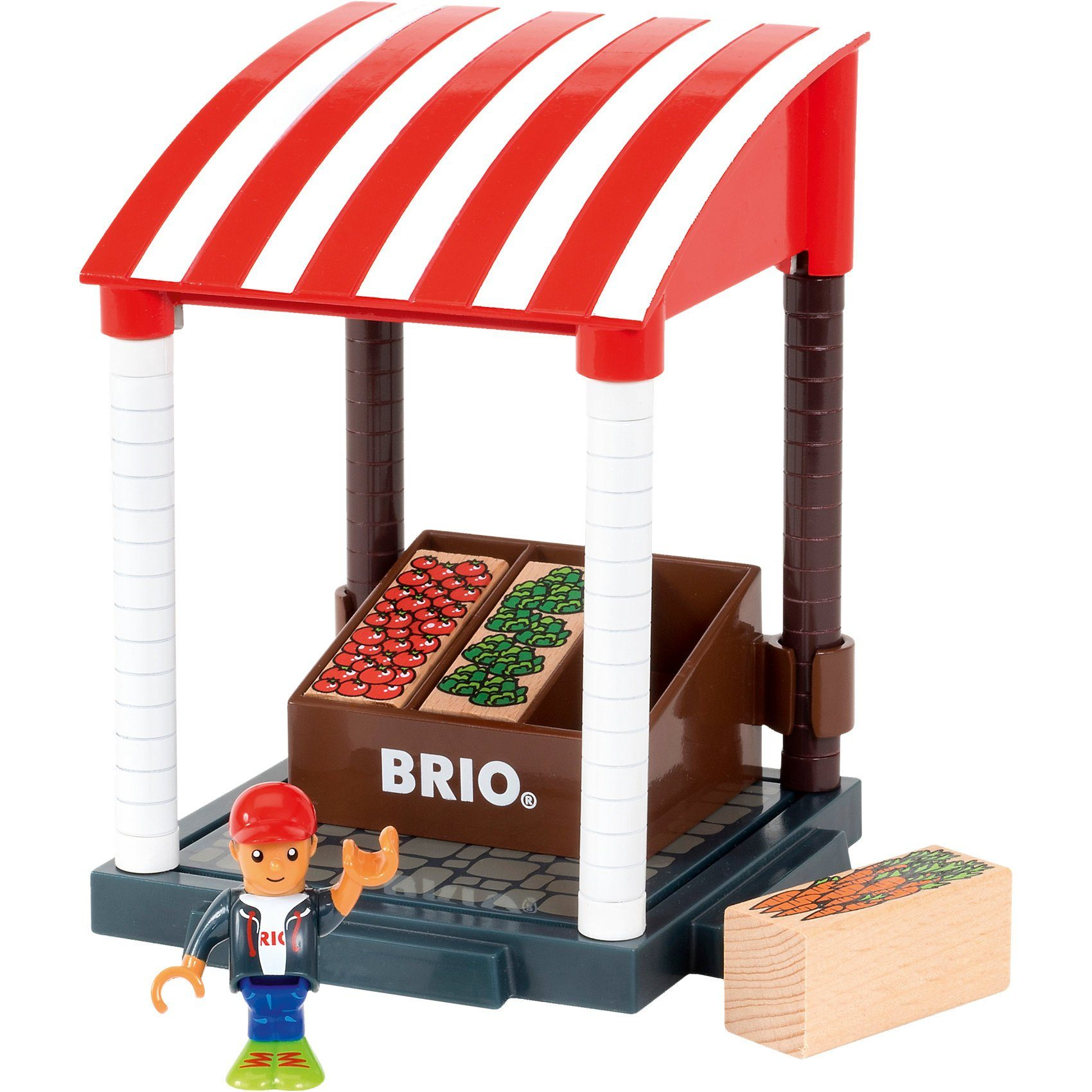 BRIO® Village Marktstand