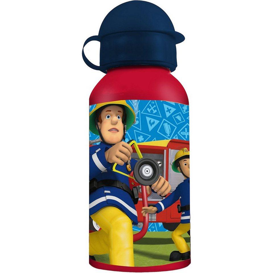 P:OS Alu-Trinkflasche Feuerwehrmann Sam, 400 ml