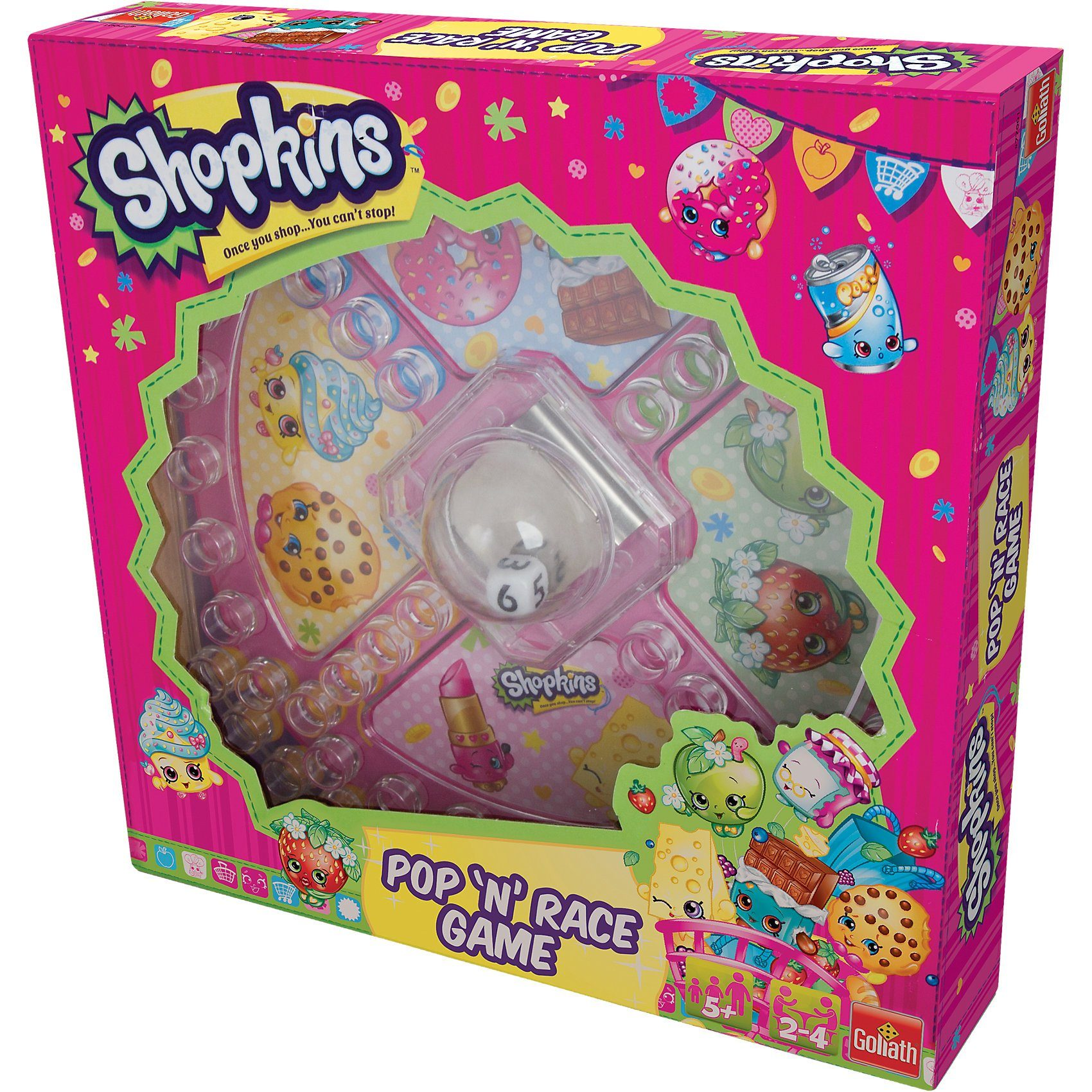 Goliath Shopkins Pop 'n' Race Game