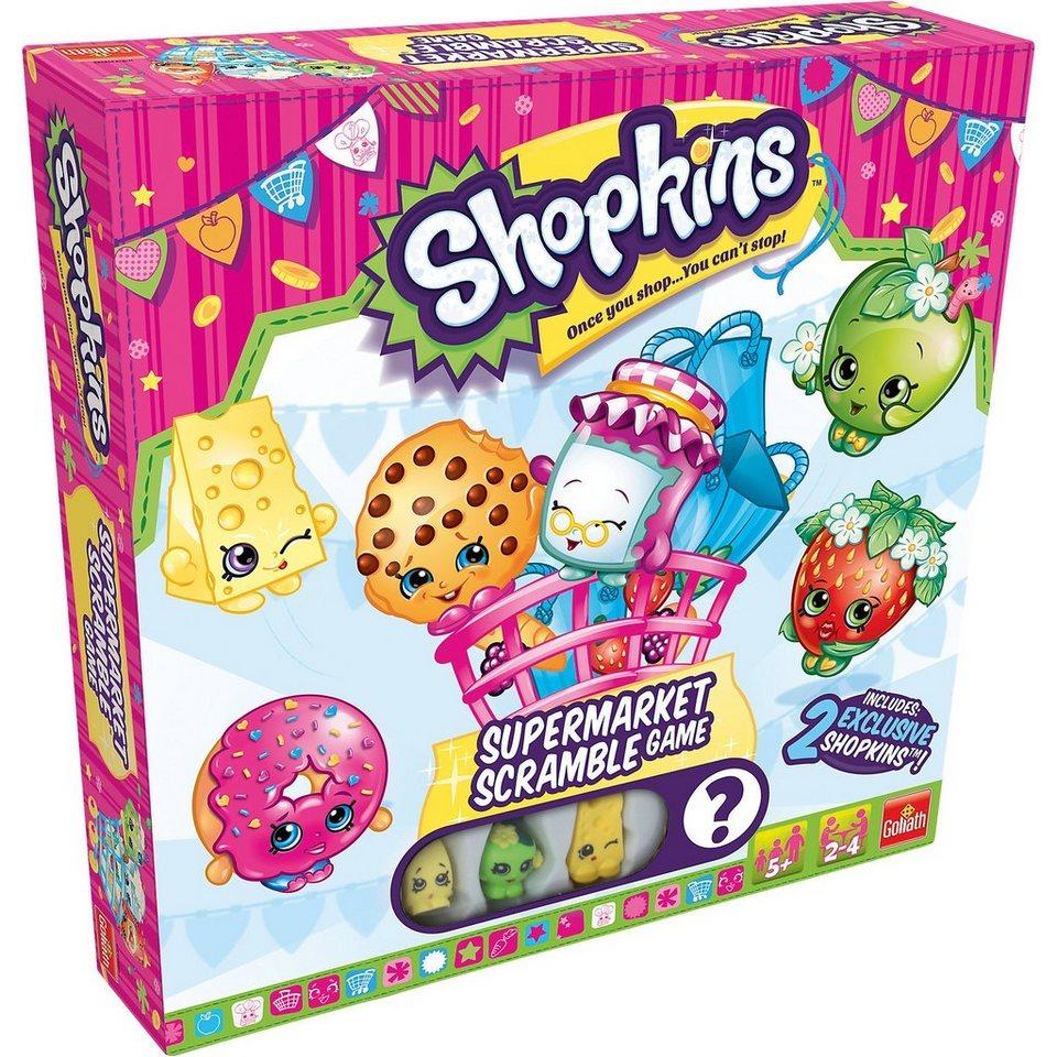 Goliath Shopkins Supermarket Scramble Game