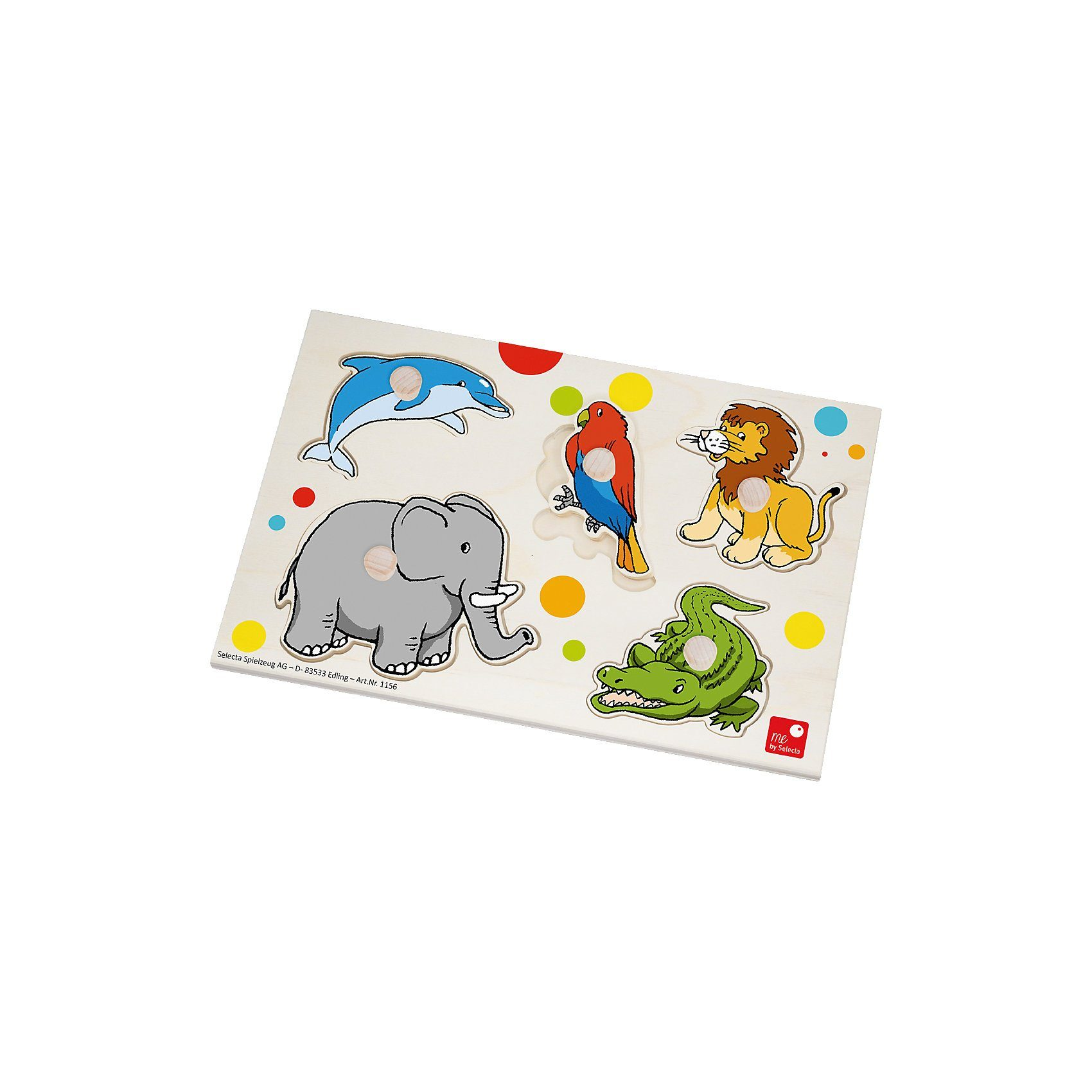 Selecta 1156 Puzzle Zoo