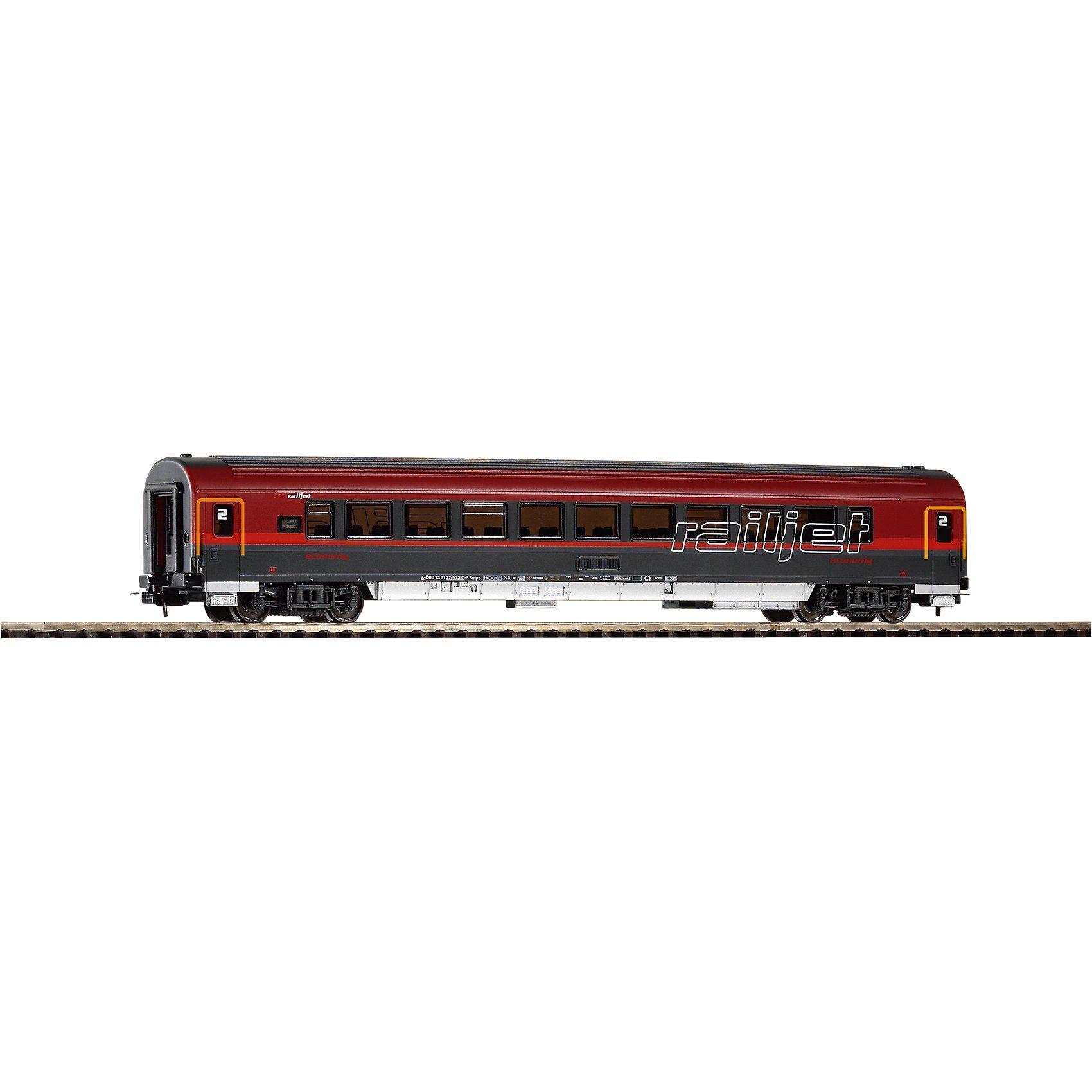 PIKO Spur H0 IC Personenwagen Railjet 2. Klasse