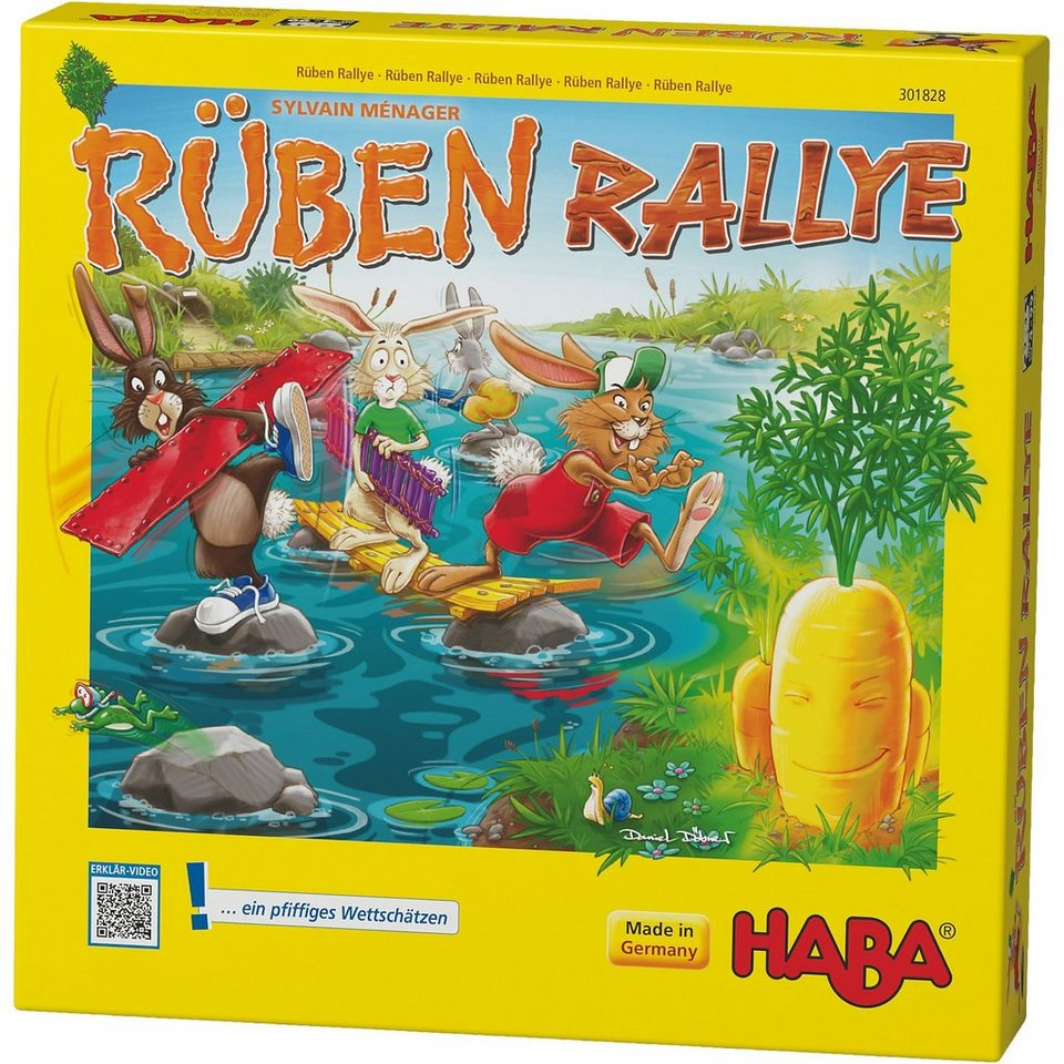 Haba Rüben Rallye
