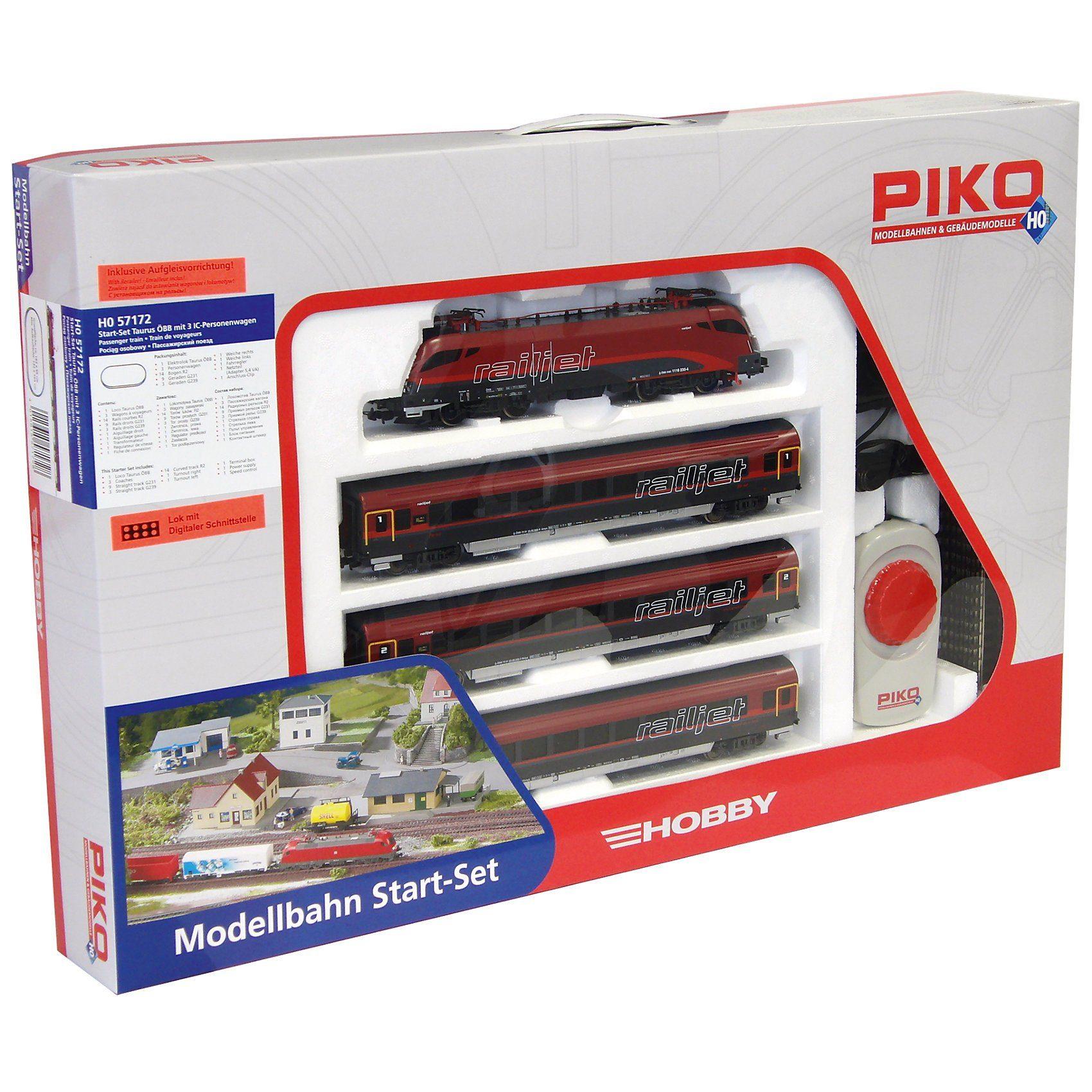 PIKO Spur H0 Start-Set Personenzug Railjet ÖBB
