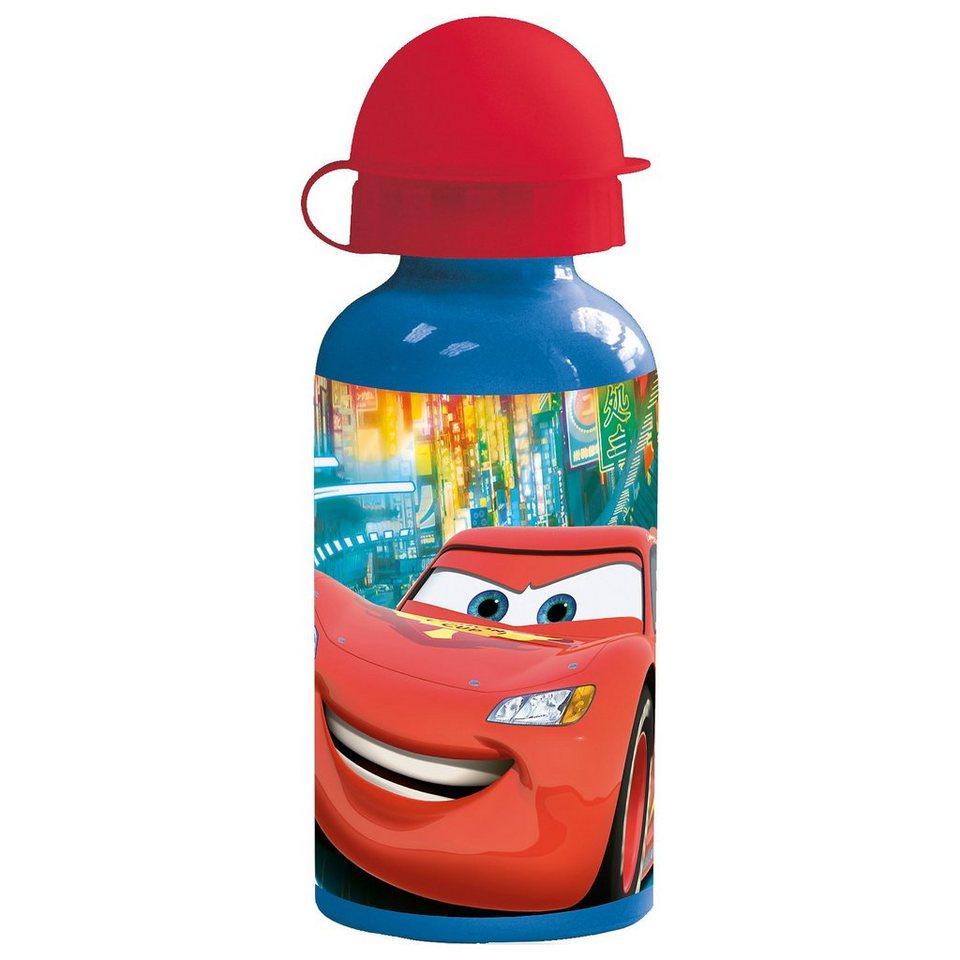 P:OS Alu-Trinkflasche Disney Cars, 400 ml