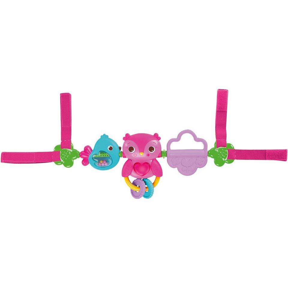 Kids II Busy Birdies Hängespielzeug, pink
