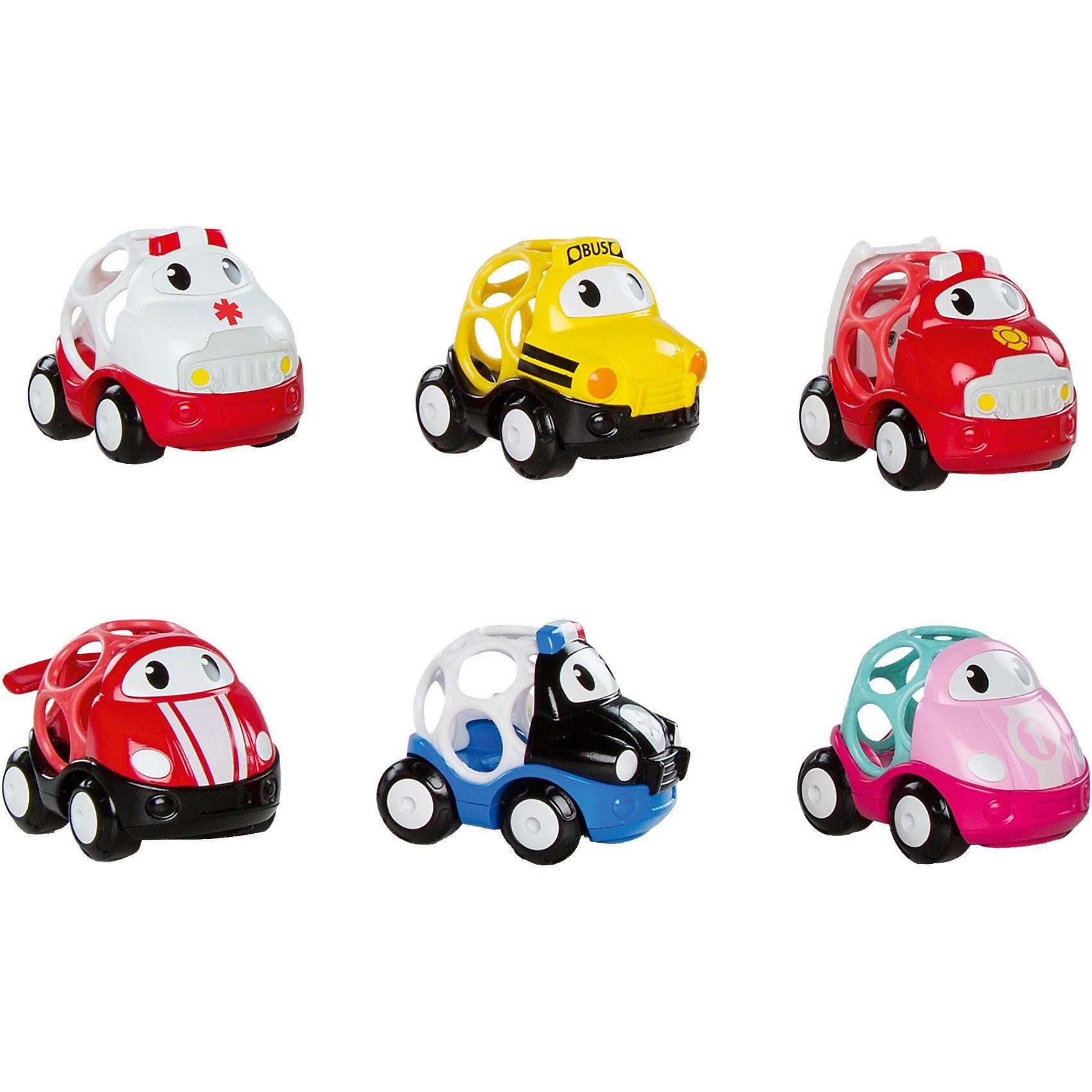 Kids II GoGrippers-Fahrzeuge, 6-fach sortiert