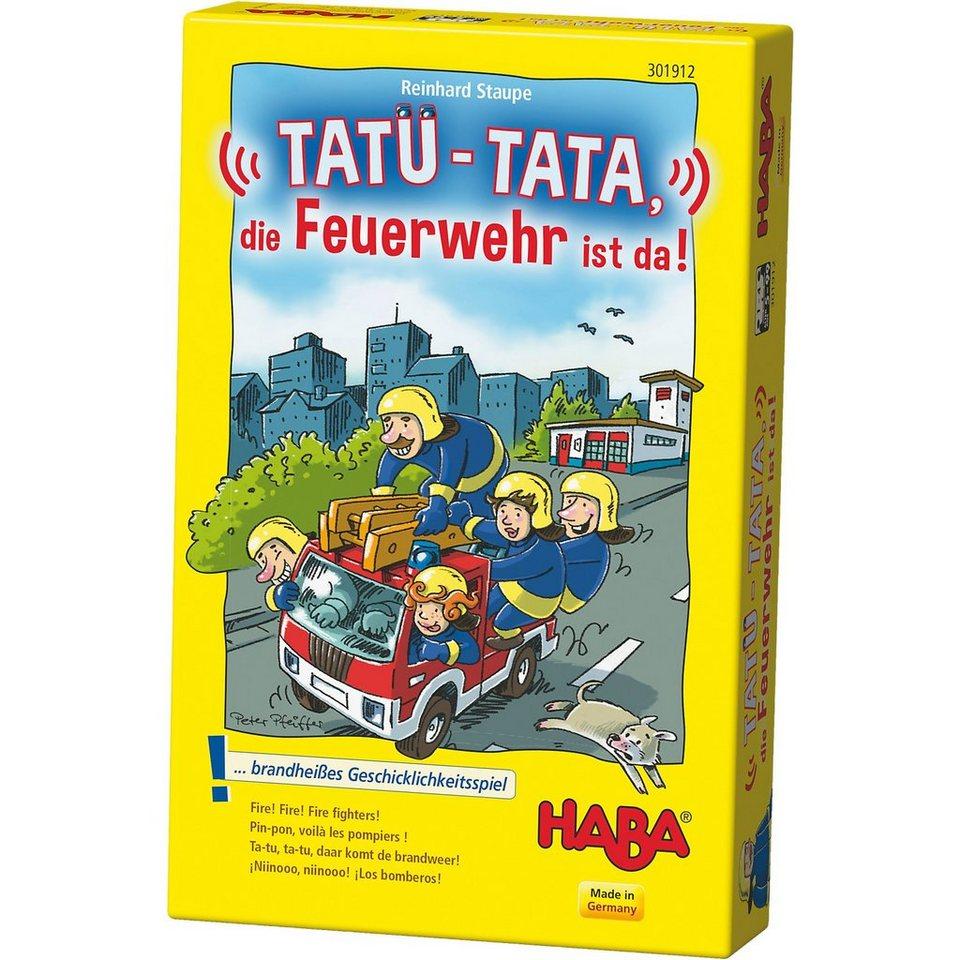 Haba Tatü-Tata, die Feuerwehr ist da!